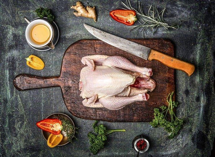 Porcjowanie Kurczaka