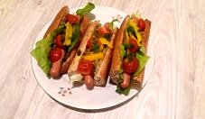 Zdrowe hot dogi