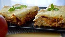 Doskonała lasagne i fasolka szparagowa