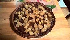 Tarta czekoladowa z gruszkami