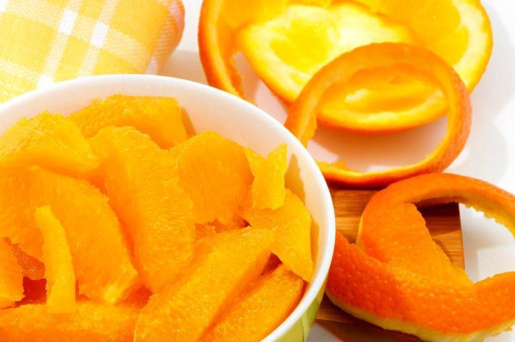 Jak obrać pomarańczę
