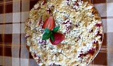 Ciasto ucierane z kruszonką i owocami